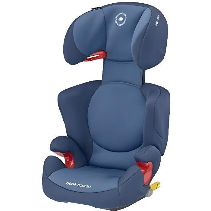 BEBE CONFORT siège Rodi XP Fix, Groupe 2/3, Isofix, de 3,5 à 10 Ans (15 à 36kg), Basic Blue