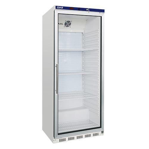 Armoire réfrigérée 600L porte vitrée