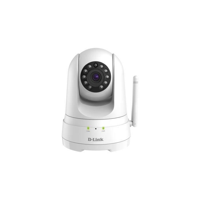 D-Link DCS-8525LH, Caméra de sécurité IP, Intérieur, Blanc, Bureau, 1920 x 1080 pixels, H.264