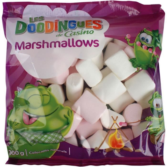 CASINO Les Doodingues Marshmallows 300g