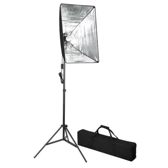 Lampe de photo studio avec diffuseur softbox 60 x 40 cm