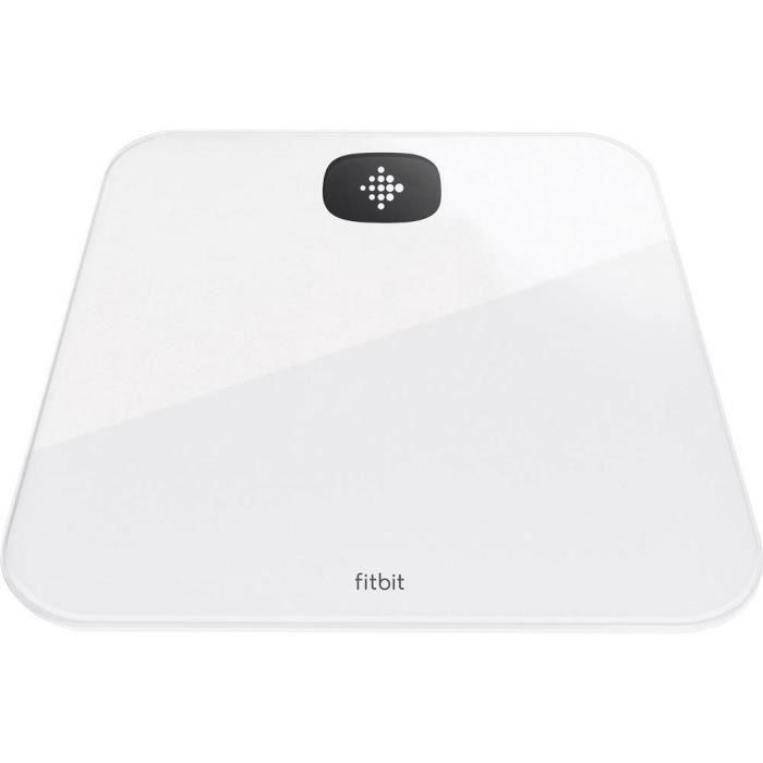 FITBIT Aria Air - Balance connectée - Jusqu'à 8 utilisateurs - Blanc