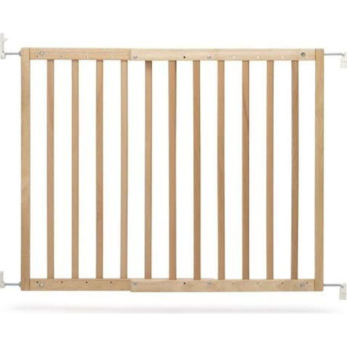 Barrière de porte et d'escalier en bois Natur