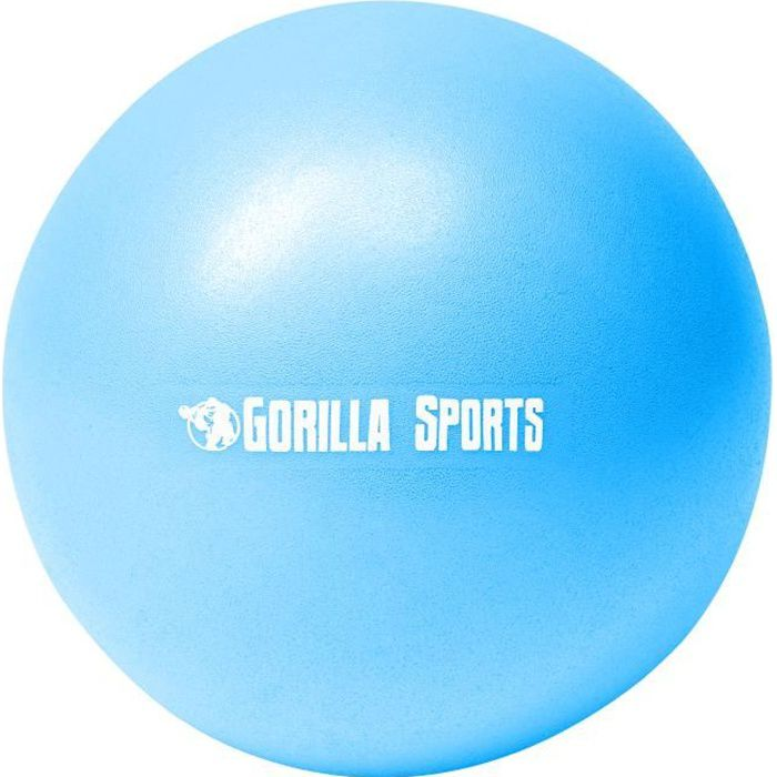 Ballon de Pilates bleu Soft Ball - Diamètre : 28 cm