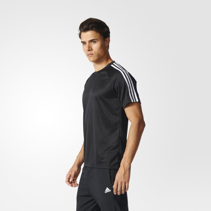 T-shirt adidas D2M 3-Stripes