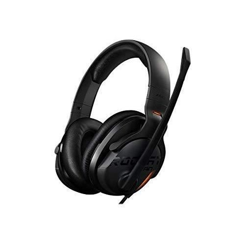 ROCCAT Khan AIMO - Casque Gaming 7.1 Son Surround, Audio Hi-Res (Haute Résolution), USB, Illumination RGB AIMO LED, Microphone