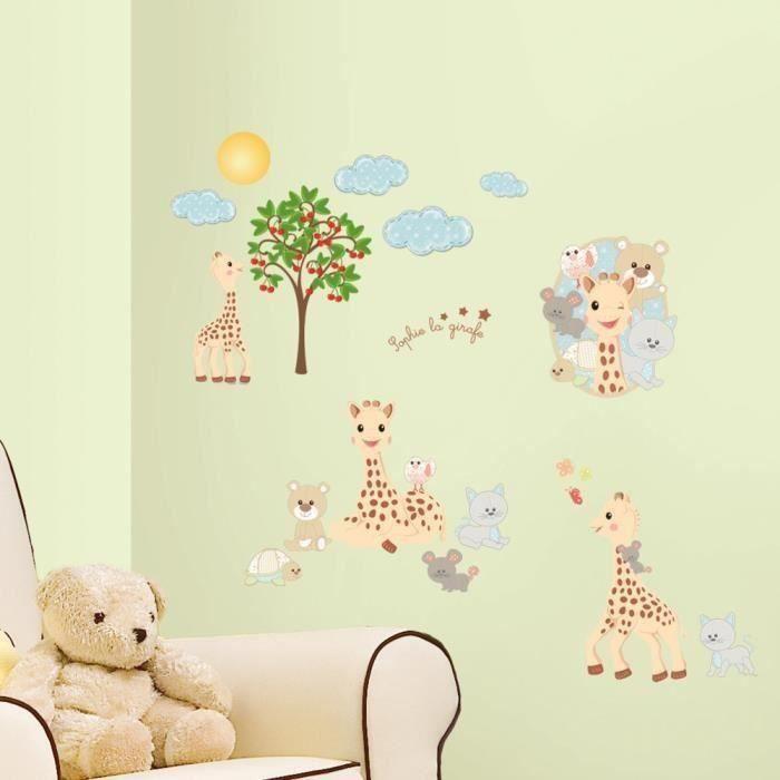 SOPHIE LA GIRAFE Stickers enfant Décoratifs