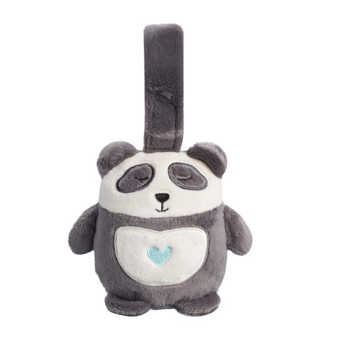 TOMMEE TIPPEE Peluche musicale de voyage Mini GroFriend - Pippo le Panda