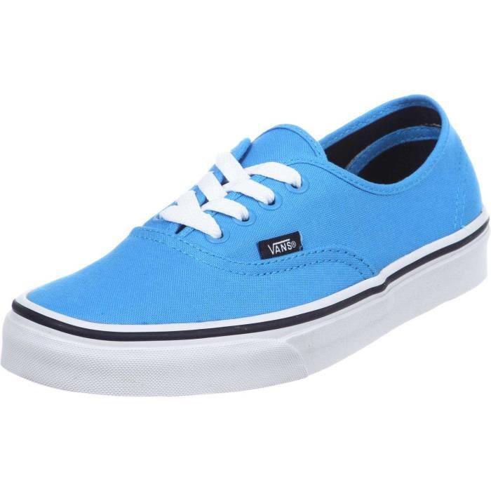 Chaussure Basse VANS Authentic Malibu Blue Black Homme Pointure 45