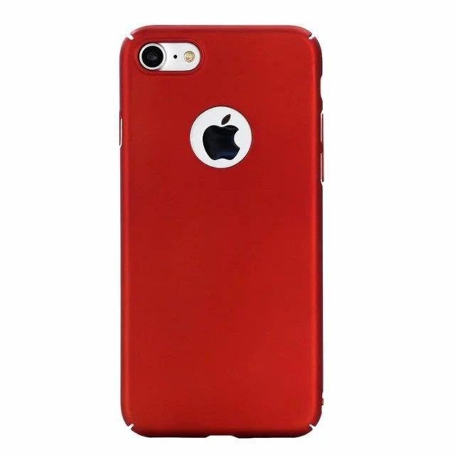Coque iPhone 6S Plus. rouge Rigide solide anti-ray