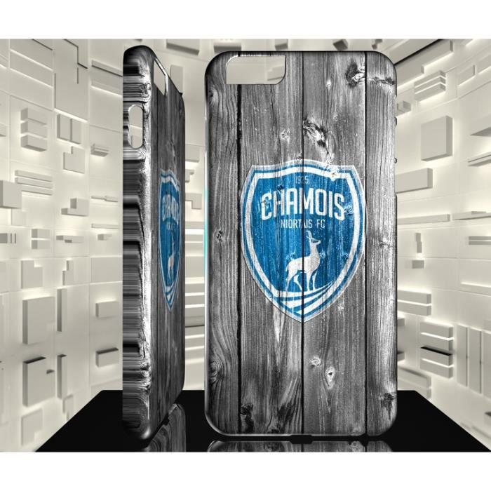 Coque pour iPhone 6 6S Football Club Chamois Niortais FC 02 ...