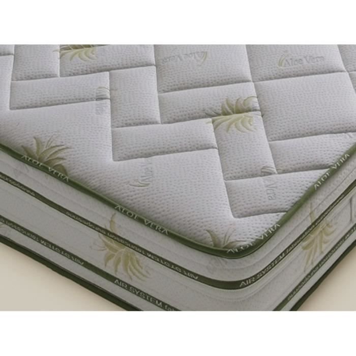 aloe vera matelas 140x190cm achat vente matelas. Black Bedroom Furniture Sets. Home Design Ideas