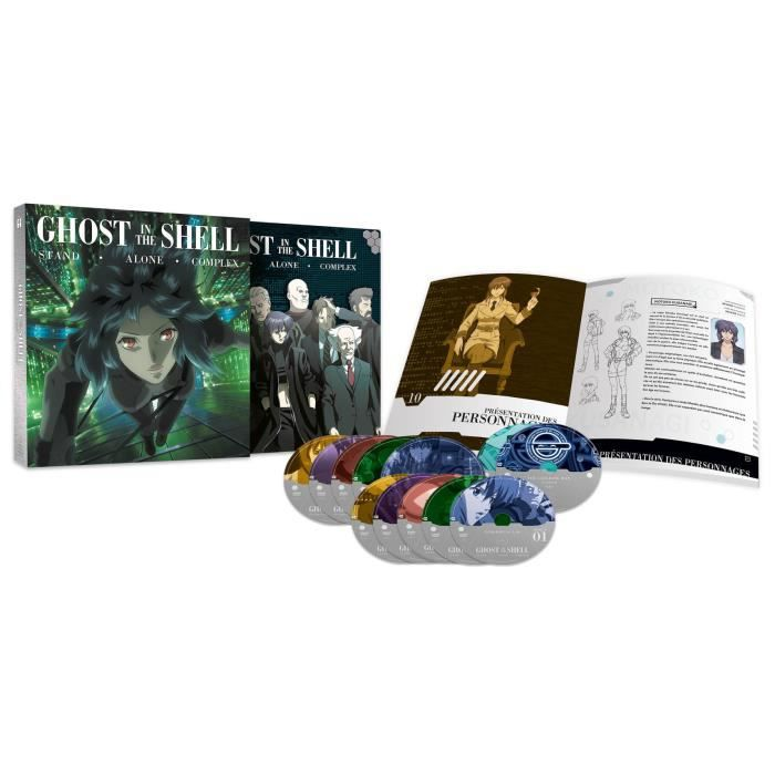 BLU-RAY FILM Ghost in the Shell - SAC - Intégrale - Edition Ult