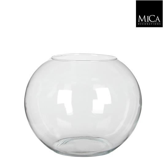 vase boule en verre d17 cm achat vente vase. Black Bedroom Furniture Sets. Home Design Ideas