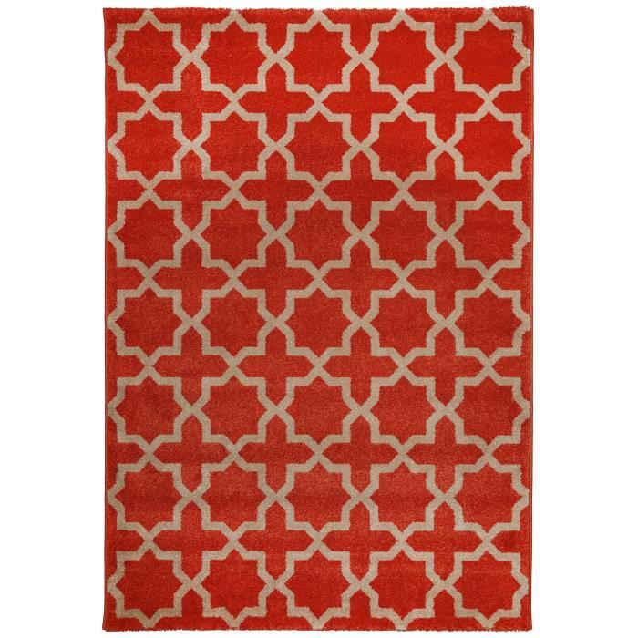 benuta tapis arabesque orange 200x290 cm achat vente tapis cdiscount. Black Bedroom Furniture Sets. Home Design Ideas