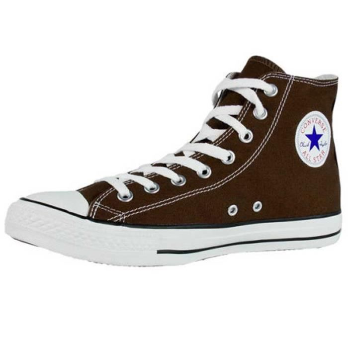 2db1a6e598e07 CONVERSE ALL STAR CHUCK TAYLOR HI 1P626 MIXTE 8 TROUS CHOCOLAT ...