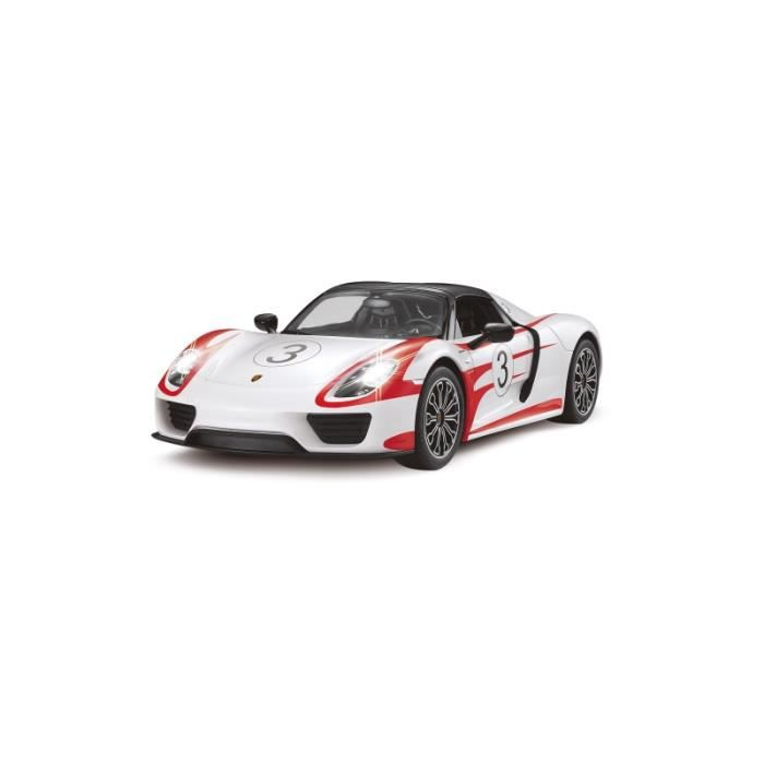 voiture rc porsche 918 spyder performance blanc achat vente voiture construire cdiscount. Black Bedroom Furniture Sets. Home Design Ideas