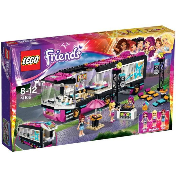 Friends Lego Bus En Pop La 41106 Star Vente Achat Tournée 80nOXkPw