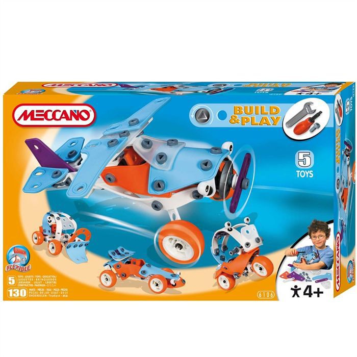 meccano avion achat vente assemblage construction cdiscount. Black Bedroom Furniture Sets. Home Design Ideas