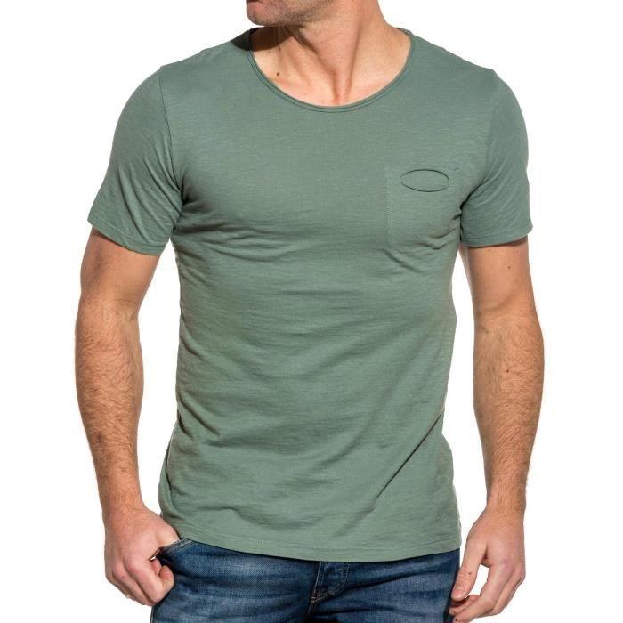 Tee shirt homme vert - Achat / Vente pas