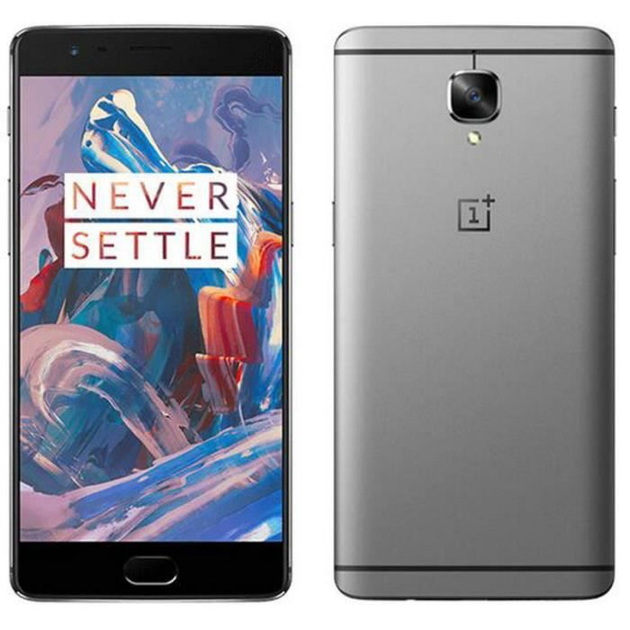 oneplus 3 smartphone 6 go ram 64 go rom snapdragon 820 nfc 3000mah achat smartphone pas cher. Black Bedroom Furniture Sets. Home Design Ideas