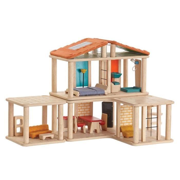 Plan Toys Maison Modulable Creative Maison De Poupees Achat Vente Maison Poupee Cdiscount