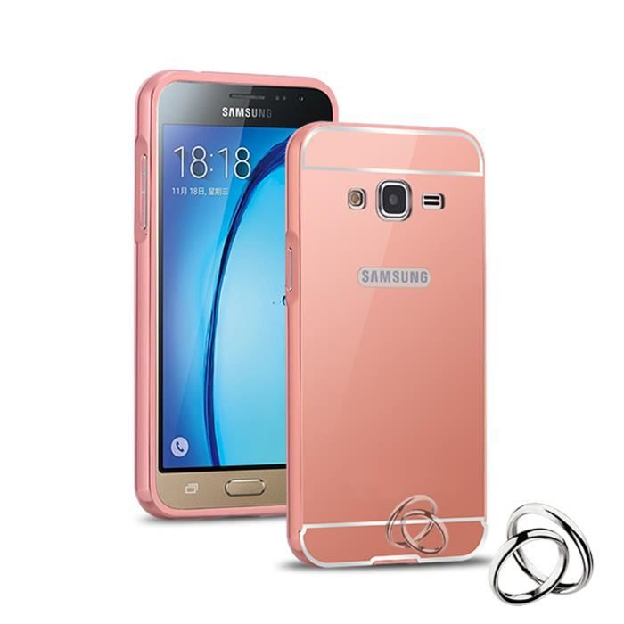 coque samsung galaxy j3 rose