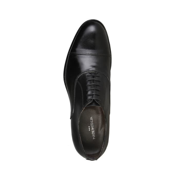 Made in Italia - Chaussures à lacet pour homme (MAURO_NERO) - Noir nmvbRf