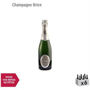 CHAMPAGNE Champagne Brut Tradition Blanc - Lot de 6x75cl - C