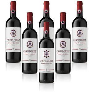 VIN ROUGE vin rouge italien Chianti Classico DOCG Castelgrev