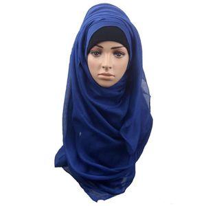 ECHARPE - FOULARD Mode femmes musulmanes Châle Écharpe Head Couvertu