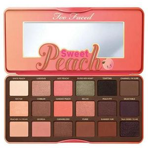 FARD À PAUPIÈRE 2016 new Mak up Too Sweet Peach 18 colors Eyeshado