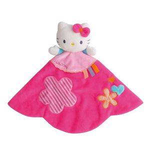 """DOUDOU Jemini Hello Kitty doudou """"baby tonic"""" +/- 26 cm"""