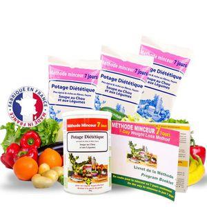 MINCEUR - CELLULITE 84 Shake Minceur Soupe au Chou Brûle Graisses Meth