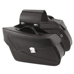 SAC DE TRANSPORT Sacoches Custom Bagages Valises 21 lt. Moto Cui...