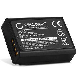 BATTERIE APPAREIL PHOTO CELLONIC® Batterie Compatible avec Canon EOS 1100D