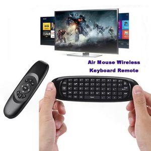 CLAVIER D'ORDINATEUR RF 2.4G Air Mouse Remote Clavier sans fil pour Sma