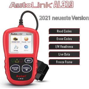 OUTIL DE DIAGNOSTIC Autel AL319 OBD2 Scanner Outils de Diagnostic  Lec