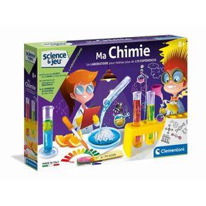 EXPÉRIENCE SCIENTIFIQUE CLEMENTONI Science & Jeu - Ma Chimie - Jeu scienti