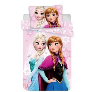 HOUSSE DE COUETTE SEULE Disney Frozen Parure de lit pour bébé 100 x 135 +
