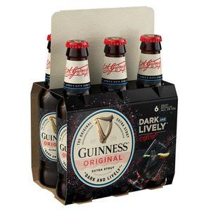 BIÈRE Guinness - Pack de 6 bières x 25 cl