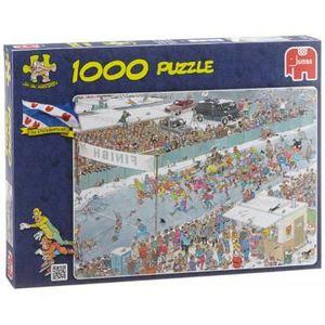 PUZZLE Puzzle Van Haasteren Jan : Course sur Glace