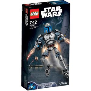 ASSEMBLAGE CONSTRUCTION LEGO® Star Wars 75107 Figurine Jango Fett