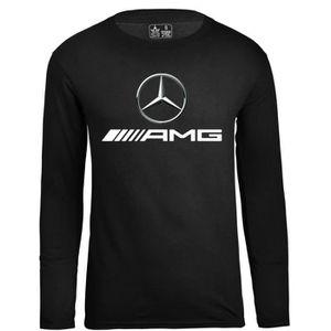 T-SHIRT Mercedes Benz Amg Auto Vetement Tee Shirt Homme Ca
