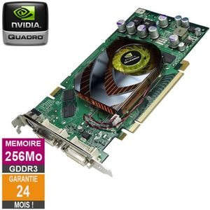 CARTE GRAPHIQUE INTERNE Carte graphique Nvidia Quadro FX 1500 256Mo GDDR3