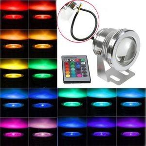 SPOTS - LIGNE DE SPOTS 10W LED Spot Projecteur Exterieur IP68 en Aluminiu