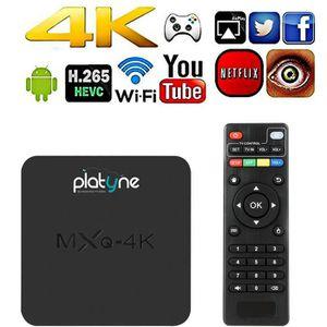 RÉCEPTEUR - DÉCODEUR   MXQ-4K Box Androïd 4K Smart TV - Système d'exploit