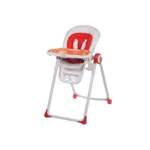 CHAISE HAUTE  SAFETY 1ST Chaise haute Koomy- Red lines