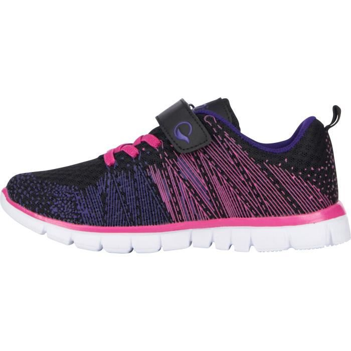 UP2GLIDE Chaussures Multisport BASSKNIT KD F - Enfant Fille - Noir et roseCHAUSSURES MULTISPORT