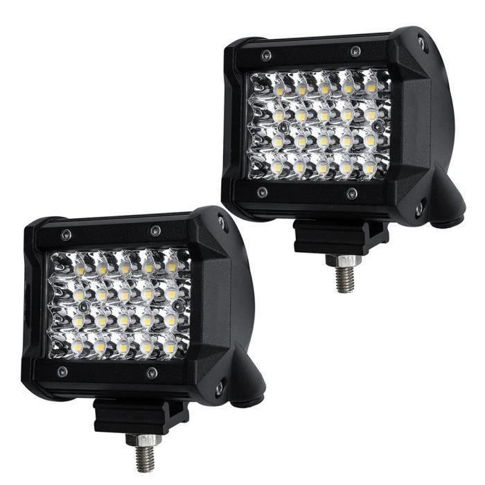 4 Po Phares Quad-rangée LED Faisceau Lumière de Travail Hors Route Conduite Lampe pour Véhicule Camion Tracteur ATV SUV UTV QUI4105